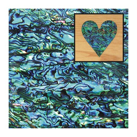 SNZ 120 - Shell Laminate - Paua