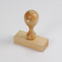 Drevená pečiatka 20x50mm