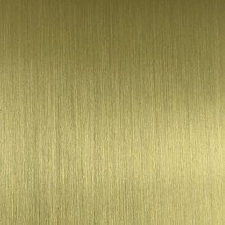 Mosadzný plech - zlatý saténový
