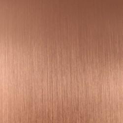 Medený plech - medený saténový