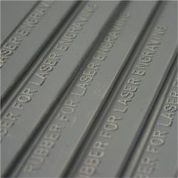 Guma na laser pečiatková DELUXE - sivá 2,3 mm