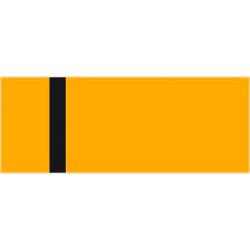 LaserFólia - oranžová/čierna