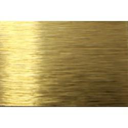 Sublimačný plech - zlatý brúsený