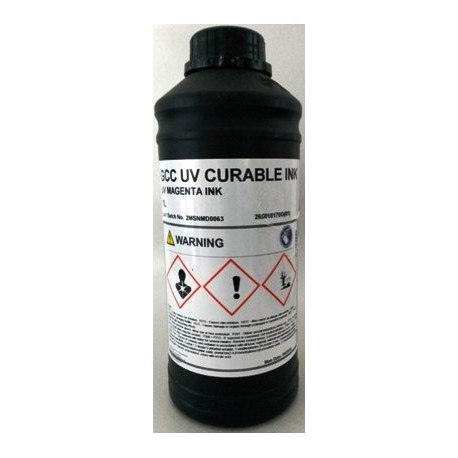Atrament GCC JF 240 UV - magenta 1000 ml