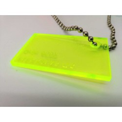 Plexiglas GS 3 Fluorescent - oranžová