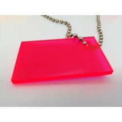 Plexiglas GS 3 Fluorescent - červená
