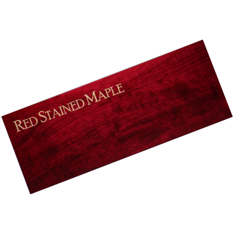 red stain maple