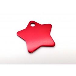 Hviezda (Star Tags) BIG - červená