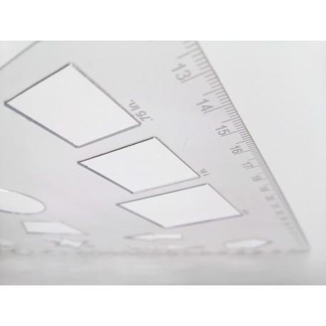 Plexisklo číre hr. 0,76 mm