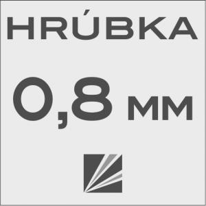 HRÚBKA 0,8 mm