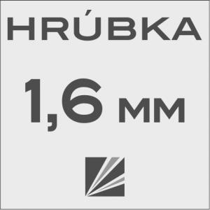 HRÚBKA 1,6 mm