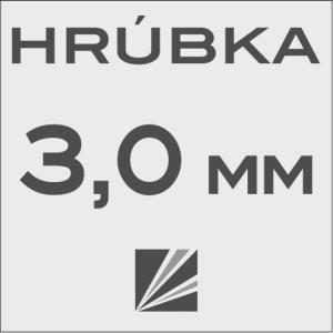 HRÚBKA 3,0 mm