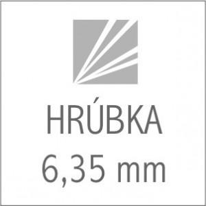 HRÚBKA 6,35 mm