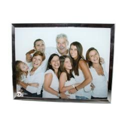 Fotorámik sklenený so zrkadlom (18x23cm)
