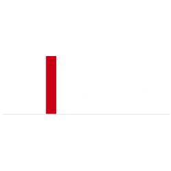 LaserAcryl1- biela/červená