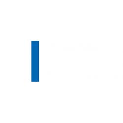 LaserAcryl1 - biela/modrá
