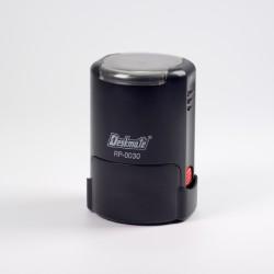 """DESKMATE RP-0030 - okrúhla (30 mm"""") kit s čiernou poduškou"""