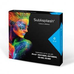 Sublisplash RICOH SG 3110DN/7100DN, SG 400/800 - CYAN