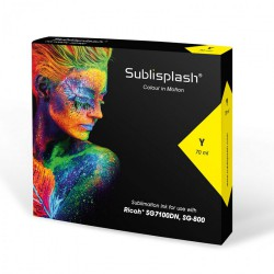 Sublisplash RICOH SG 7100DN, SG 800 - YELLOW