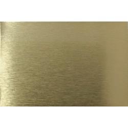 Sublimačný plech - zlatý matný