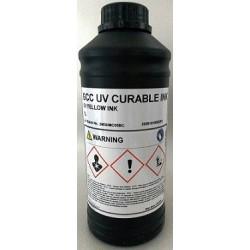 Atrament GCC JF 240 UV - yellow 1000 ml