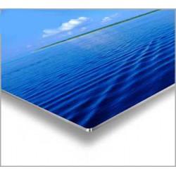 Hliníkový plech UV - matný biely (hr. 0,55 mm)
