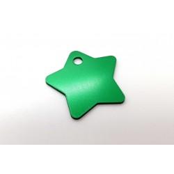 Hviezda (Star Tags) MEDIUM - zelena