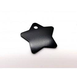 Hviezda - čierna (MEDIUM)