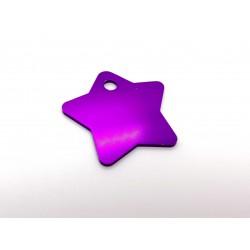 Hviezda (Star Tags) MEDIUM - fialová
