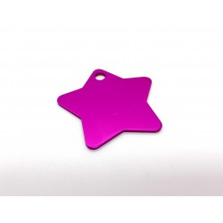 Hviezda - ružová (BIG)