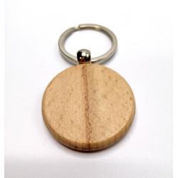 Kľúčenka drevená - štvorec
