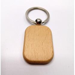 Kľúčenka drevená - obdĺžnik