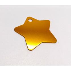 Hviezda - zlatá (BIG)