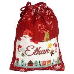 Vianočná taška - červená