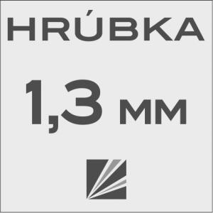 HRÚBKA 1,3 mm