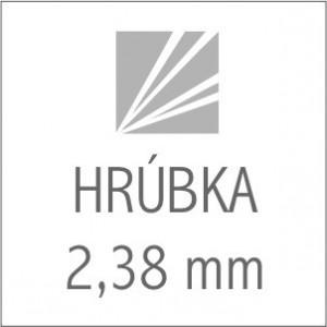 HRÚBKA 2,38 mm