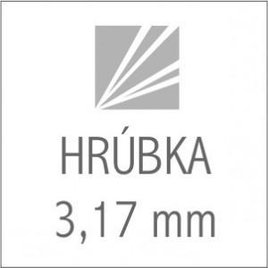 HRÚBKA 3,17 mm